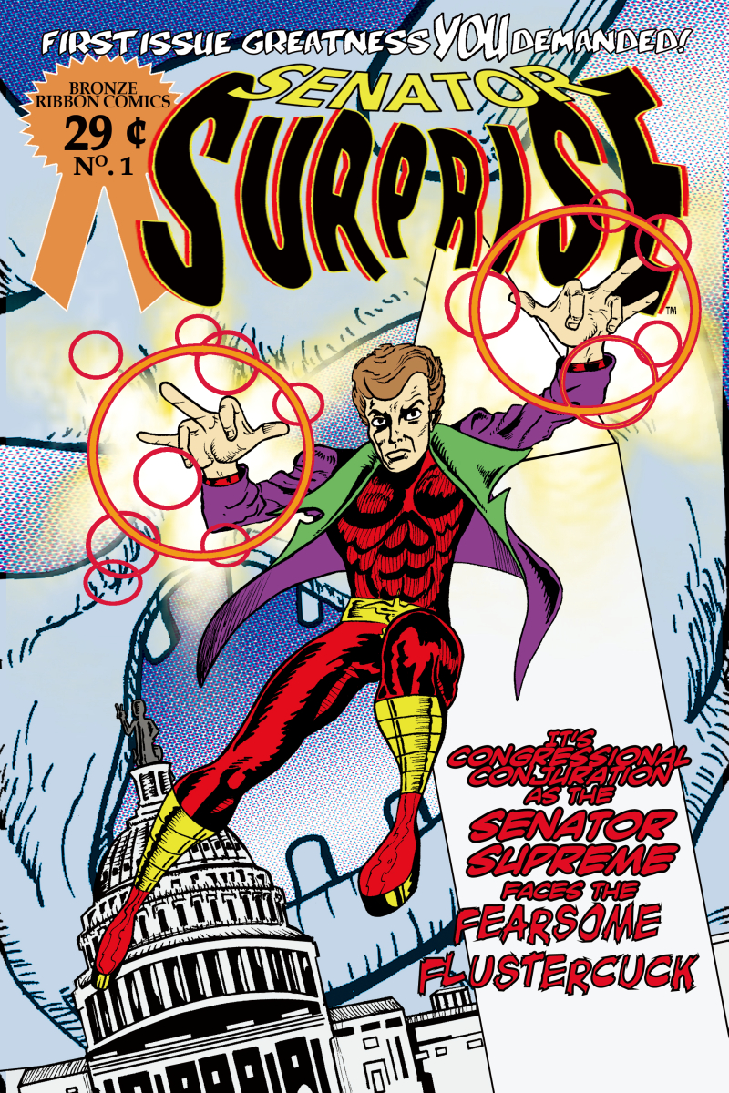 Senator Surprise cover 1 - How a Spell Becomes a Law!