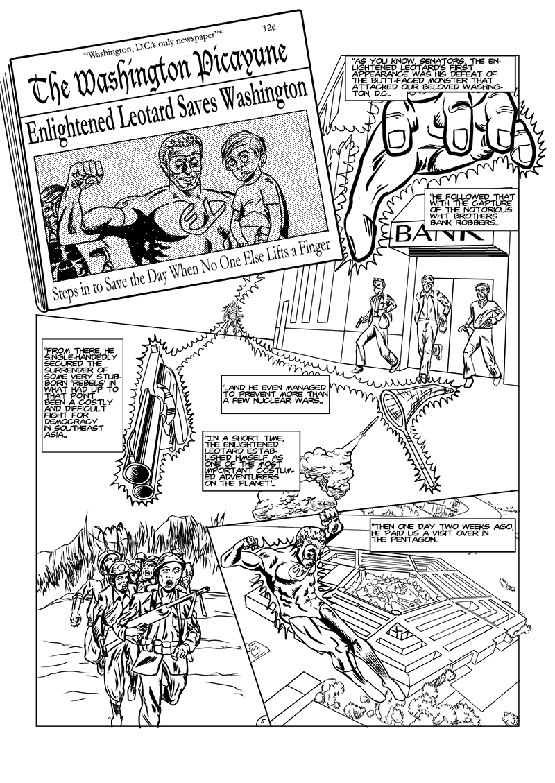 Provocateurs issue 1 page 5